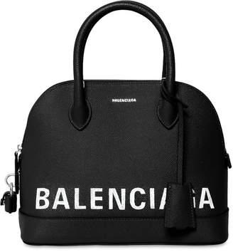 Balenciaga Small Ville Textured Leather Bag