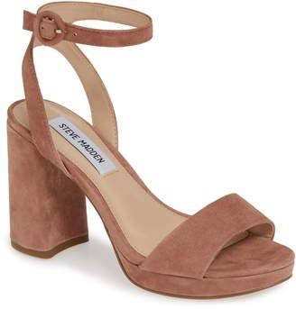 5ebebfc2825c Steve Madden Pink Platform Heel Women s Sandals - ShopStyle