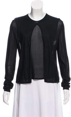 Chanel Semi-Sheer Cardigan Set