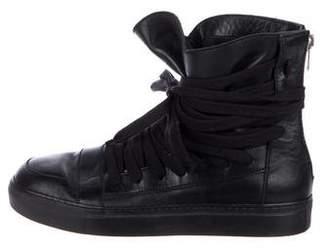 Kris Van Assche Icarus Leather Sneakers
