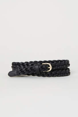 H&M Braided Belt - Black