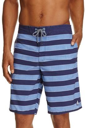 Johnnie-O Bali Striped Board Shorts $79 thestylecure.com