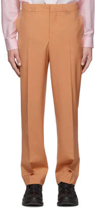 Burberry Orange Flap Trousers
