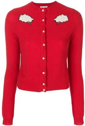 Olympia Le-Tan bubble cloud buttoned cardigan