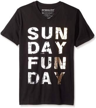 Spenglish Men's Sunday Funday Short Sleeve T-Shirt