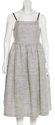 Edit Sleeveless Midi Dress