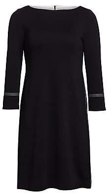 St. John Women's Milano Knit A-Line Dress
