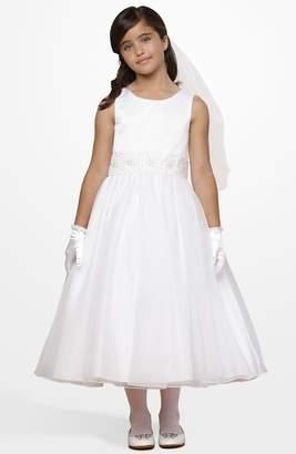 Us Angels Beaded Waist Dress