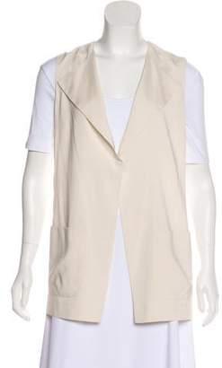 Brunello Cucinelli Silk Open Front Vest