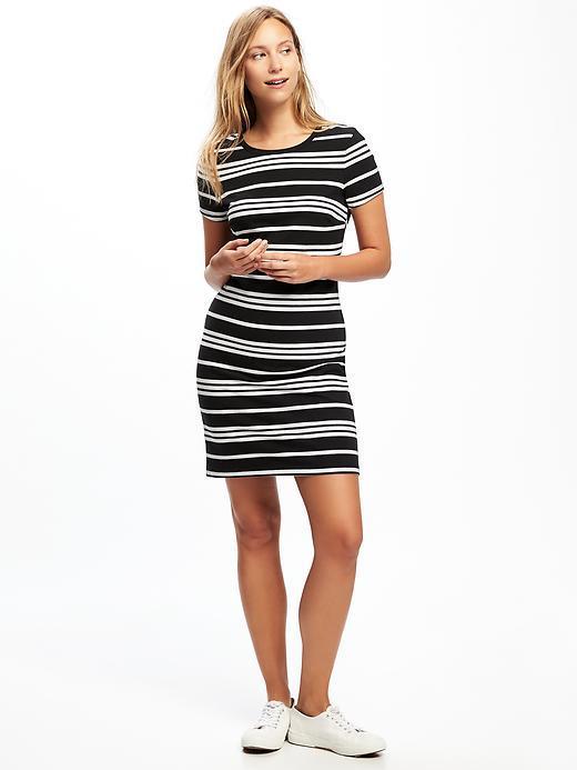 Crew-Neck Tee Dress for Women