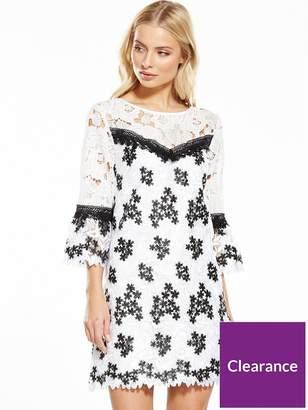 Miss Selfridge Lace Organza Dress