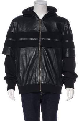 Givenchy Hooded Zip Jacket