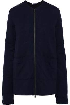 Jil Sander Waffle-Knit Wool Jacket