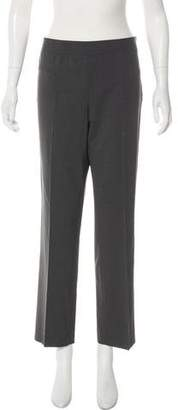 DKNY Wool Mid-Rise Pants