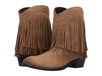 Roper Fringe Shorty Cowboy Boots