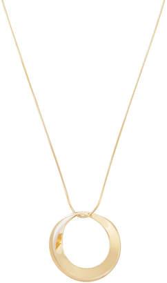 Modern Circular Pendant Necklace