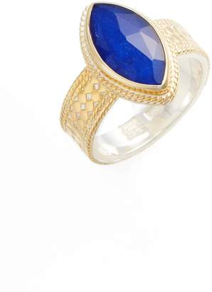 Anna Beck Lapis Marquise Stone Ring