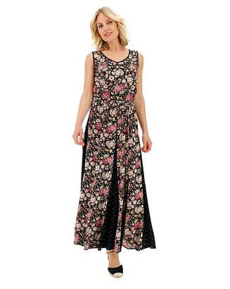 Fashion World Patchwork Print Dress