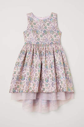 H&M Brocade Dress - Light pink/patterned - Kids