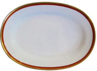 One Kings Lane Vintage Ginori Italian Gilt Porcelain Platter