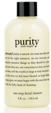 philosophy Purity Made Simple Facial Cleanser 8 oz
