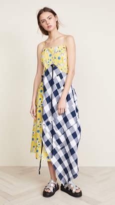 R 13 Double Apron Dress