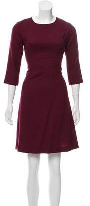 Goat A-Line Knee-Length Dress