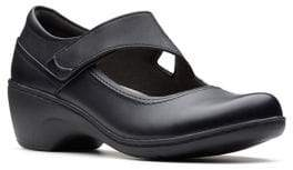 Clarks Collection By Channing Penny Leather Shoes