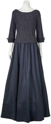 Women's Jessica Howard Glitter Evening Gown $245 thestylecure.com