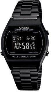Casio Vintage Black B640 Digital Bracelet Watch