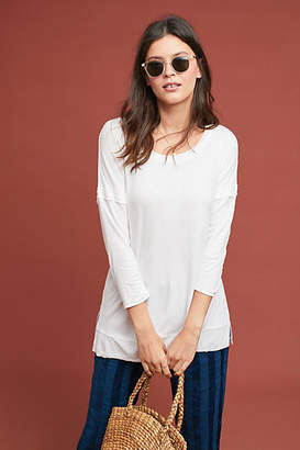 Bordeaux Willamette Ribbed Tunic