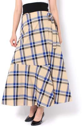 And Couture (アンド クチュール) - アンドクチュール 【TGC着用】ラップロングスカート