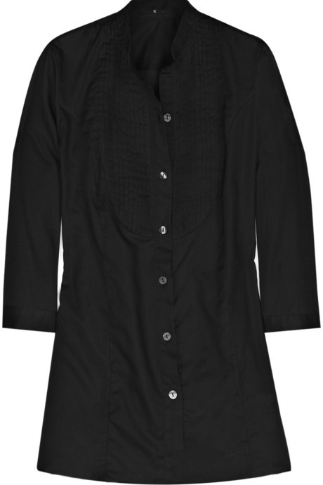 K Karl Lagerfeld Ozara Smoking cotton blouse