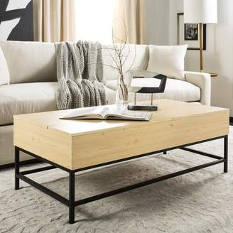 Bronx Ivy Reda Lift-Top Coffee Table with Storage Top