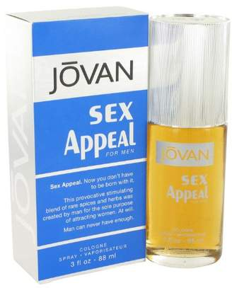 Jovan Sex Appeal by Cologne Spray 3 oz