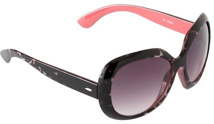 LOFT Oversized Round Sunglasses