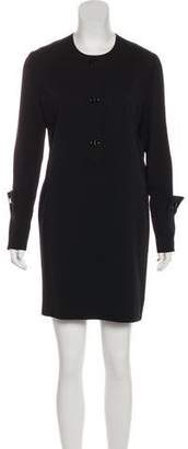 Tom Ford Long Sleeve Mini Dress