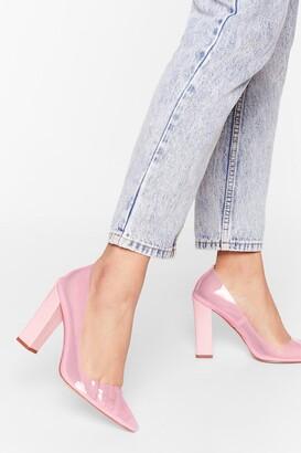 Nasty Gal Barbie Girl Perspex Court Heel