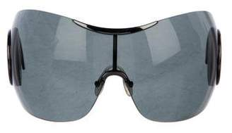 Christian Dior Retractable Oversize Sunglasses
