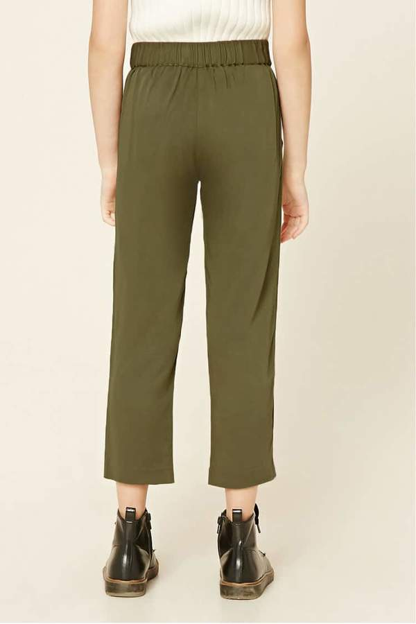 Forever 21 Girls Self-Tie Trousers (Kids)