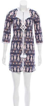 Figue Printed Mini Dress w/ Tags