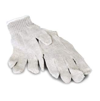PackagingSuppliesByMail Poly Cotton String Knit Work Gloves for Men's 84 Pairs