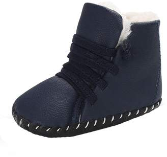 Baby Boots,Yuxing Toddler Baby Boy Girl Cute Soft Winter Crib Snow Boots Warm Shoes