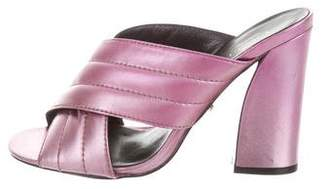 Gucci Crossover Slide Sandals