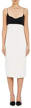Narciso Rodriguez WOMEN'S COLORBLOCKED SLIPDRESS