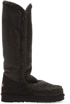 Mou 20mm Eskimo 40 Metallic Wedge Boots