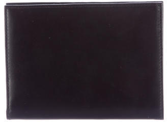Brooks Brothers Brooks Brothers Leather Travel Wallet