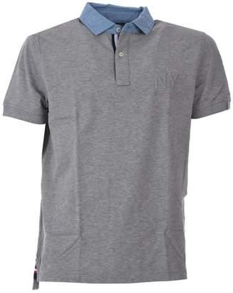 Tommy Hilfiger Grey Polo Shirt