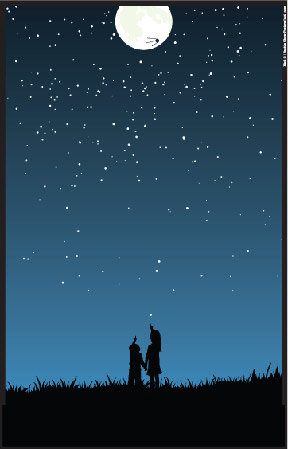 Seattle Show Posters Night Sky Poster