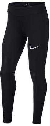 Nike Girls' Contrast Training Tights - Big Kid